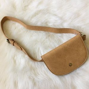 Vegan Leather Waist Purse